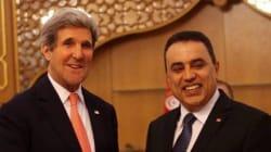Le secrétaire d'Etat américain John Kerry en visite surprise à