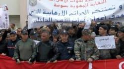 Sit-in des forces de sécurité, le discours anti-terroriste