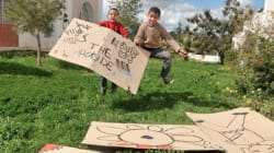 Les jeunes de Sidi Hassine font le