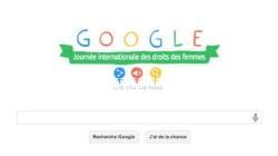 Google célèbre la Femme avant l'heure