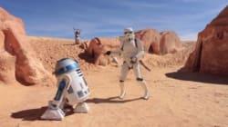 Les personnages de Star Wars aussi sont