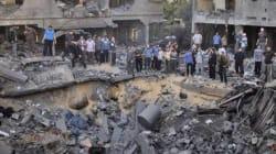 Israël bombarde Gaza en réaction aux tirs de