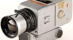 우주에서 돌아온 카메라의 경매 가격은