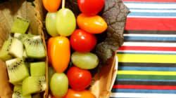 채소와 과일 얼마나 먹으면