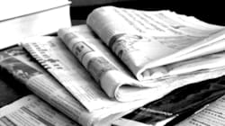 La politique domine l'information dans la presse
