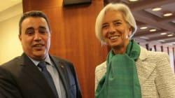 Jomâa parle business avec la patronne du FMI à