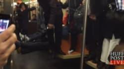 Panique dans le métro New Yorkais à cause d'un étrange