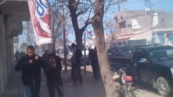 Les salafistes manifestent à Rouhia, la police