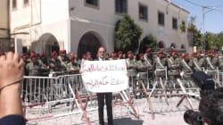 Manifestation contre le verdict dans l'affaire des martyrs de la