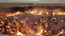 러시아 운석 추정 대형 불꽃