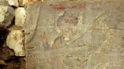 이집트 고대무덤서 예수추정 그림