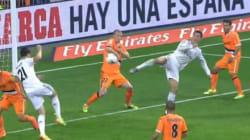 Cristiano Ronaldo marque un but à la Akaichi (ou à la