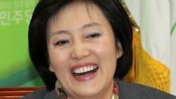 박영선 의원, 교섭단체 정당 첫 여성