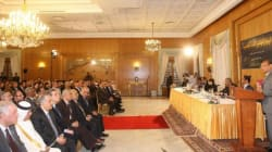 Moncef Marzouki présente