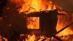 샌디에이고 대형산불 확산(사진,