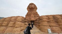 Quand la Chine copie des monuments historiques, de la Tour Eiffel au Sphinx de