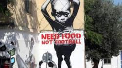 Au Brésil, des graffitis anti-FIFA envahissent les murs à l'approche du