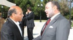 Départ du roi du Maroc Mohamed VI après une visite de dix jours en