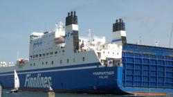 핀란드 여객선 스웨던서 좌초 : 탑승 198명 전원