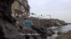 Les Algériennes à la plage par Amina Zoubir