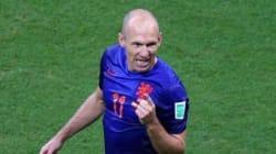 Mondial 2014: Arjen Robben (Pays-Bas) joueur le plus rapide de