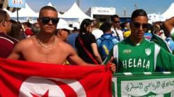 Mondial 2014: Des supporters algériens partout sur le