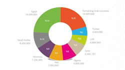 L'Algérie compte 6.8 millions d'utilisateurs sur Facebook, seulement 37 500 sur Twitter