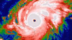 기상 관측이래 최강 태풍