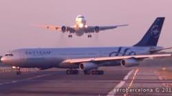 스페인 공항에서 두 대의 항공기가 충돌을