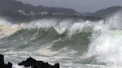 태풍 너구리 북상, 일본 오키나와 주민 59만명 대피