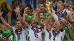 독일, 브라질 월드컵 우승!