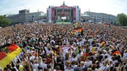Mondial 2014: Des milliers de fans à Berlin pour acclamer leurs