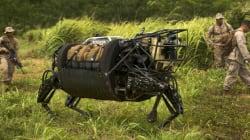 미군, 전투용 로봇 첫 군사훈련