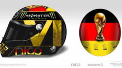 La FIFA interdit au pilote de F1, Nico Rosberg, de porter ce