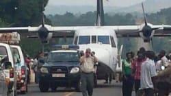 Atterrissage forcé d'un avion de l'ONU sur une autoroute