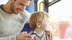 아이들이 어른의 스마트폰 중독을 더