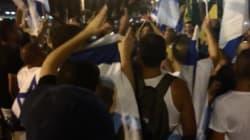 A Tel-Aviv, des Israéliens scandent