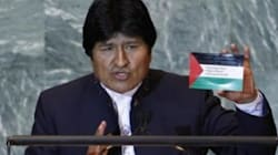 Morales déclare Israël Etat terroriste et impose des visas aux