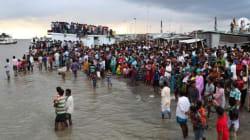방글라데시서 250여명 탄 여객선 침몰 : 150여명