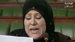 Tunisie: Ecartée des listes d'Ennahdha, la députée Sonia Toumia fond en
