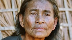 Les visages tatoués, tradition révolue au