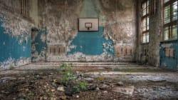 Des écoles abandonnées après Tchernobyl