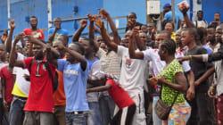 라이베리아 에볼라 폭력시위...세계 곳곳에서 의심환자