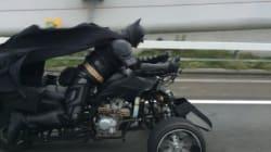 배트맨, 일본 치바의 고속도로에