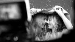 케이트 모스와 카라 델레바인이 만나면 이런 그림이다(사진,