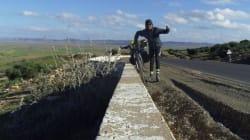 D'Oran à Tunis ... en vélo, le pari fou d'un infatigable cycliste