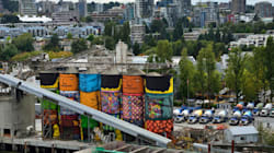 Quand des silos industriels se transforment en chefs d'oeuvres