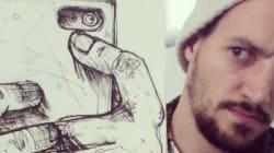 Ses dessins prennent vie sur Instagram