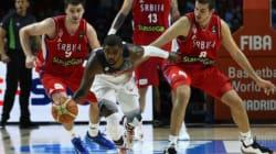 Les États-unis marchent sur la Serbie en finale du