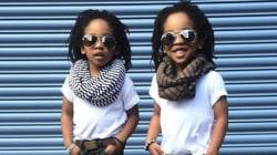Des jumeaux très à la